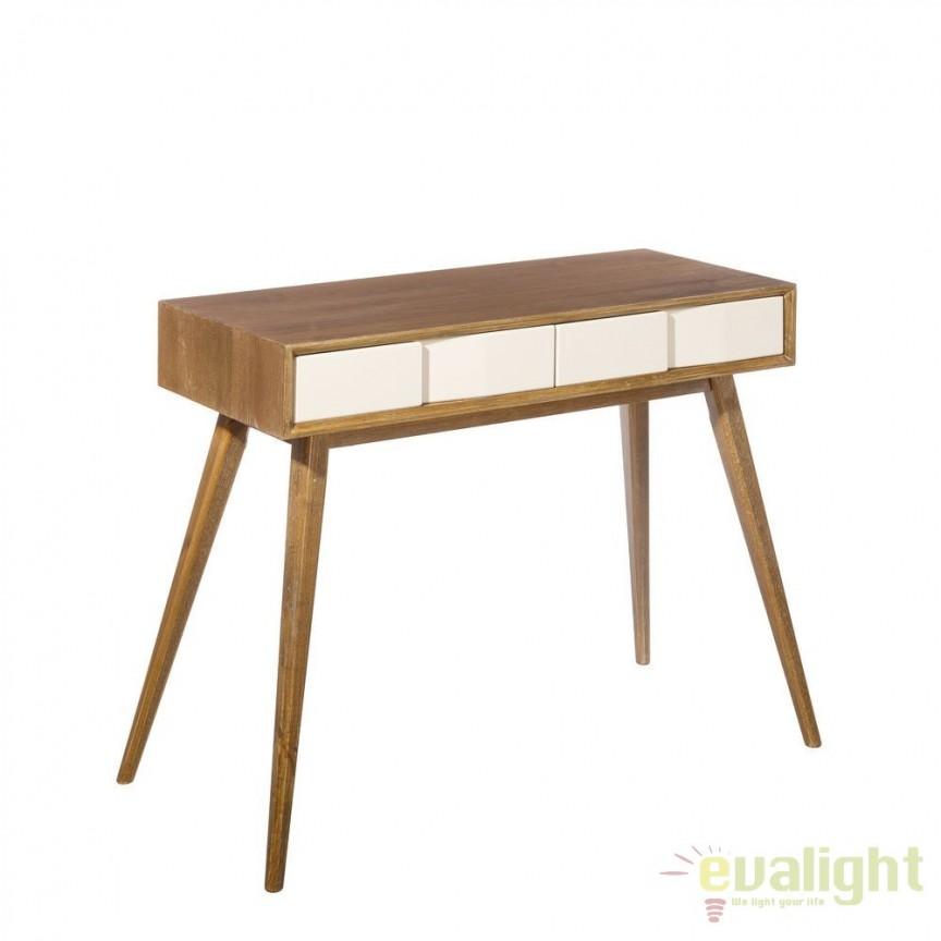 Consola design nordic din lemn de frasin HYATT SX-101869, Console - Birouri, Corpuri de iluminat, lustre, aplice, veioze, lampadare, plafoniere. Mobilier si decoratiuni, oglinzi, scaune, fotolii. Oferte speciale iluminat interior si exterior. Livram in toata tara.  a