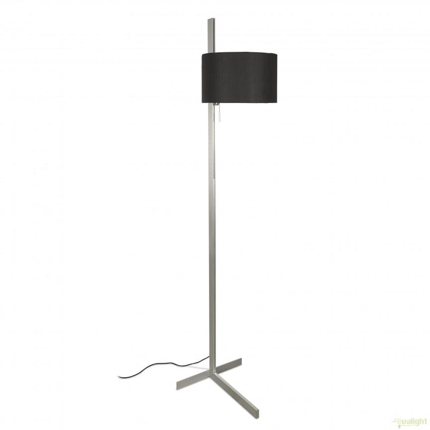 Lampadar / Lampa de podea design modern minimalist STAND UP negru 57212 Faro Barcelona , Lampadare, Corpuri de iluminat, lustre, aplice, veioze, lampadare, plafoniere. Mobilier si decoratiuni, oglinzi, scaune, fotolii. Oferte speciale iluminat interior si exterior. Livram in toata tara.  a