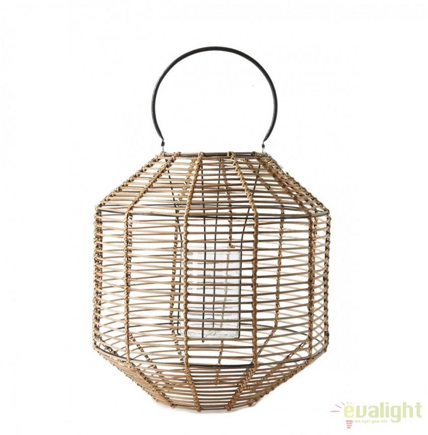 Felinar, suport lumanare portabil din bambus Camps Bay L 345770RM , Promotii si Reduceri⭐ Oferte ✅Corpuri de iluminat ✅Lustre ✅Mobila ✅Decoratiuni de interior si exterior.⭕Pret redus online➜Lichidari de stoc❗ Magazin ➽ www.evalight.ro. a