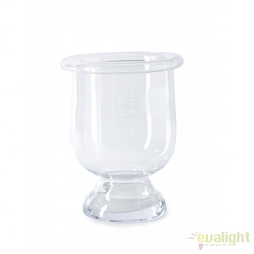 Vaza decorativa din sticla Happiness M 351480RM , Vaze /Ghivece decorative flori /plante, vase,suporturi si jardiniere de interior si exterior⭐modele moderne de lux cu design elegant✅ inalte sau de perete suspendate✅ potrivite pentru aranjamente florale naturale si plante artificiale din living,terasa,balcon,curte si gradina casei.❤️Promotii vaze de flori mari si ghivece ceramica de podea, vase de sticla si portelan, cristal, jardiniere din plastic, beton (ciment), suporti din fier forjat, lemn❗ Intra si vezi  ✚ poze ➽ www.evalight.ro. ➽ sursa ta de inspiratie online❗ Aici gasesti ghivece ornamentale rezistente la soare, pt plante de dimensiuni mari si mici, flori curgatoare si aranjarea in cascada a plantelor, cu sistem inteligent de auto-udare (autoirigare) pentru tuia, orhidee, trandafiri japonezi, produse de calitate superioara cu stil original premium, stil actual la moda in 2021❗ Ideale pt amenajari sali de mese festive (nunti, botezuri), restaurant, bar, terasa, hotel, mobila showroom, casa scarii, pt amenajari, intra ➽vezi oferte si reduceri cu vanzare rapida din stoc, ieftine si de calitate deosebita la cel mai bun pret. a