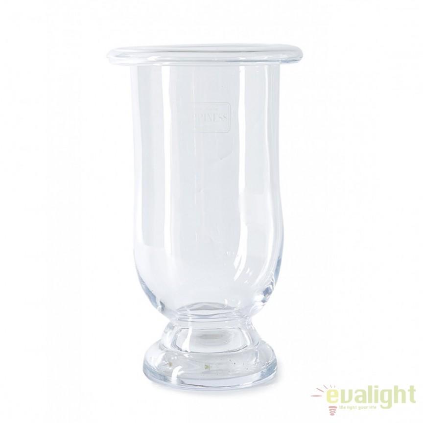 Vaza decorativa din sticla Happiness L 351470RM , Vaze /Ghivece decorative flori /plante, vase,suporturi si jardiniere de interior si exterior⭐modele moderne de lux cu design elegant✅ inalte sau de perete suspendate✅ potrivite pentru aranjamente florale naturale si plante artificiale din living,terasa,balcon,curte si gradina casei.❤️Promotii vaze de flori mari si ghivece ceramica de podea, vase de sticla si portelan, cristal, jardiniere din plastic, beton (ciment), suporti din fier forjat, lemn❗ Intra si vezi  ✚ poze ➽ www.evalight.ro. ➽ sursa ta de inspiratie online❗ Aici gasesti ghivece ornamentale rezistente la soare, pt plante de dimensiuni mari si mici, flori curgatoare si aranjarea in cascada a plantelor, cu sistem inteligent de auto-udare (autoirigare) pentru tuia, orhidee, trandafiri japonezi, produse de calitate superioara cu stil original premium, stil actual la moda in 2021❗ Ideale pt amenajari sali de mese festive (nunti, botezuri), restaurant, bar, terasa, hotel, mobila showroom, casa scarii, pt amenajari, intra ➽vezi oferte si reduceri cu vanzare rapida din stoc, ieftine si de calitate deosebita la cel mai bun pret. a