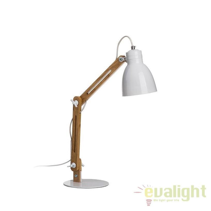 Lampa de masa, lampa de birou design industrial vintage, Edra SX-94785, Veioze de Birou moderne, Corpuri de iluminat, lustre, aplice, veioze, lampadare, plafoniere. Mobilier si decoratiuni, oglinzi, scaune, fotolii. Oferte speciale iluminat interior si exterior. Livram in toata tara.  a
