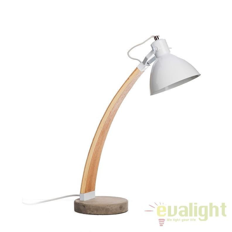 Lampa de masa, lampa de birou design industrial vintage, Essie SX-94784, Veioze de Birou moderne, Corpuri de iluminat, lustre, aplice, veioze, lampadare, plafoniere. Mobilier si decoratiuni, oglinzi, scaune, fotolii. Oferte speciale iluminat interior si exterior. Livram in toata tara.  a