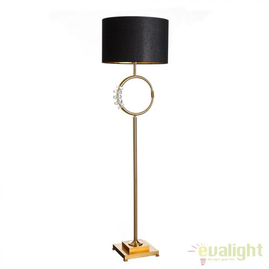 Lampadar design elegant / Lampa de podea Glenda DZ-102488, Lampadare, Corpuri de iluminat, lustre, aplice, veioze, lampadare, plafoniere. Mobilier si decoratiuni, oglinzi, scaune, fotolii. Oferte speciale iluminat interior si exterior. Livram in toata tara.  a