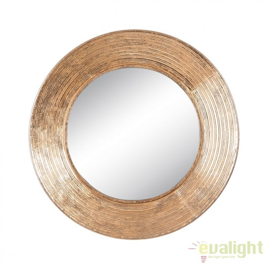 Oglinda design vintage din metal Orpha 71,5cm DZ-102078, Corpuri de iluminat, lustre, aplice, veioze, lampadare, plafoniere. Mobilier si decoratiuni, oglinzi, scaune, fotolii. Oferte speciale iluminat interior si exterior. Livram in toata tara.