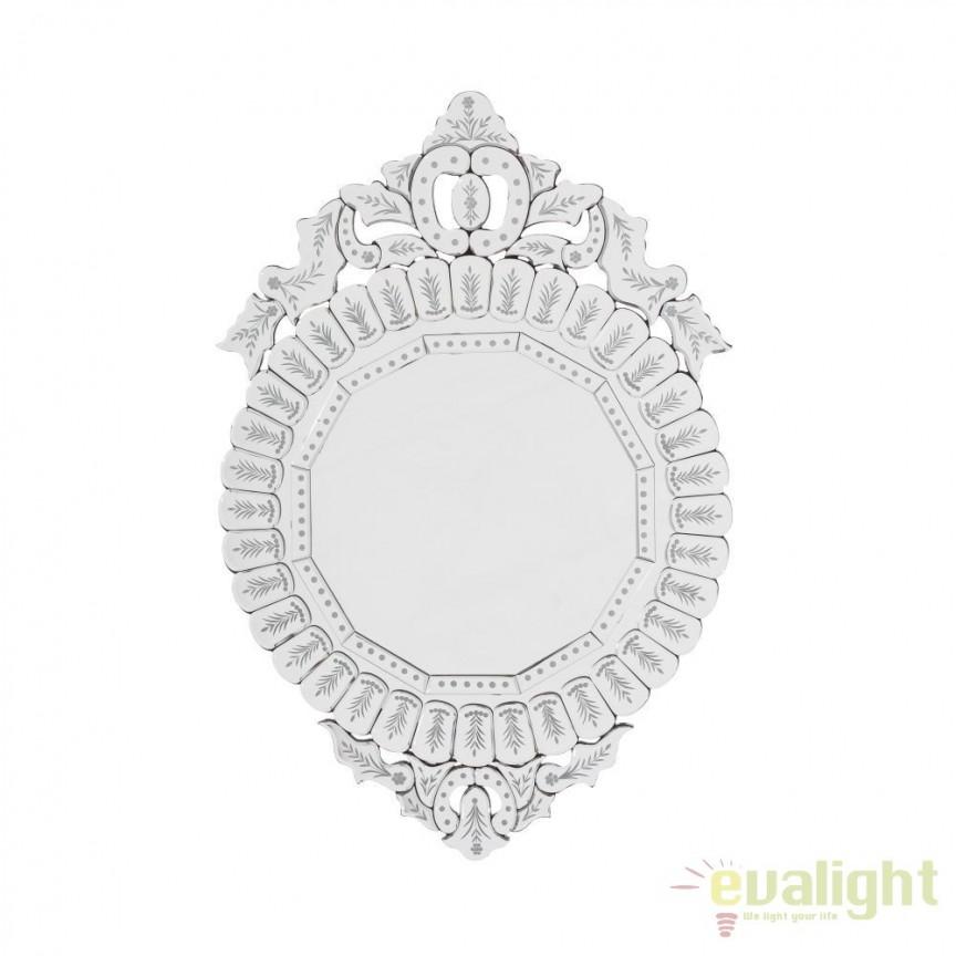 Oglinda design elegant Susanne DZ-102461, Oglinzi decorative, Corpuri de iluminat, lustre, aplice, veioze, lampadare, plafoniere. Mobilier si decoratiuni, oglinzi, scaune, fotolii. Oferte speciale iluminat interior si exterior. Livram in toata tara.  a