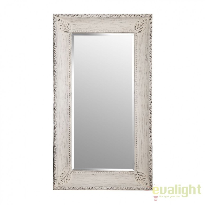 Oglinda decorativa design vintage Awilda 134x229cm, DZ-100386, Oglinzi decorative, Corpuri de iluminat, lustre, aplice, veioze, lampadare, plafoniere. Mobilier si decoratiuni, oglinzi, scaune, fotolii. Oferte speciale iluminat interior si exterior. Livram in toata tara.  a