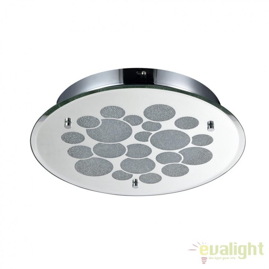 Plafoniera LED design modern diam.35cm Glitter II MYC445-CL-01R-18W-N, ILUMINAT INTERIOR LED , Corpuri de iluminat, lustre, aplice, veioze, lampadare, plafoniere. Mobilier si decoratiuni, oglinzi, scaune, fotolii. Oferte speciale iluminat interior si exterior. Livram in toata tara.  a