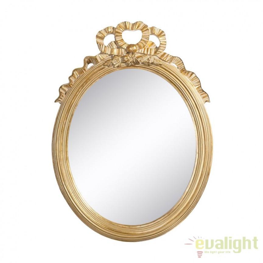 Oglinda de perete Ayanna 47x65cm, auriu SX-100734, Oglinzi decorative, Corpuri de iluminat, lustre, aplice, veioze, lampadare, plafoniere. Mobilier si decoratiuni, oglinzi, scaune, fotolii. Oferte speciale iluminat interior si exterior. Livram in toata tara.  a