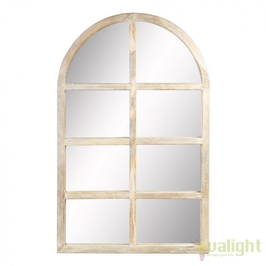 Oglinda design rustic Vilna 110x175cm DZ-94913, Oglinzi decorative, Corpuri de iluminat, lustre, aplice, veioze, lampadare, plafoniere. Mobilier si decoratiuni, oglinzi, scaune, fotolii. Oferte speciale iluminat interior si exterior. Livram in toata tara.  a