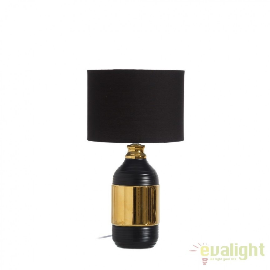 Veioza / Lampa de masa design deco Donatas H53 DZ-102513, CORPURI DE ILUMINAT INTERIOR MODERN, Corpuri de iluminat, lustre, aplice, veioze, lampadare, plafoniere. Mobilier si decoratiuni, oglinzi, scaune, fotolii. Oferte speciale iluminat interior si exterior. Livram in toata tara.  a
