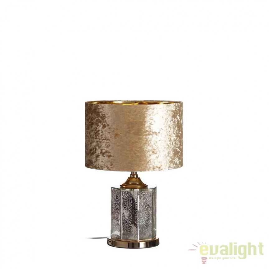 Veioza design elegant / Lampa de masa Sashka II DZ-102500, CORPURI DE ILUMINAT INTERIOR MODERN, Corpuri de iluminat, lustre, aplice, veioze, lampadare, plafoniere. Mobilier si decoratiuni, oglinzi, scaune, fotolii. Oferte speciale iluminat interior si exterior. Livram in toata tara.  a