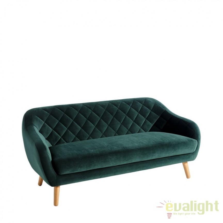 Canapea eleganta si confortabila Ardelle verde DZ-94640, PROMOTII, Corpuri de iluminat, lustre, aplice, veioze, lampadare, plafoniere. Mobilier si decoratiuni, oglinzi, scaune, fotolii. Oferte speciale iluminat interior si exterior. Livram in toata tara.  a