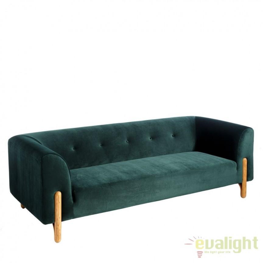 Canapea eleganta si confortabila Ardelle I verde DZ-94642, Canapele - Coltare, Corpuri de iluminat, lustre, aplice, veioze, lampadare, plafoniere. Mobilier si decoratiuni, oglinzi, scaune, fotolii. Oferte speciale iluminat interior si exterior. Livram in toata tara.  a