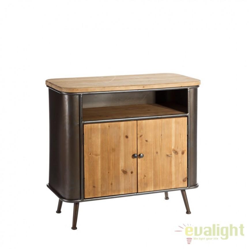 Comoda design industrial-vintage Emerson SX-101862, Dulapuri - Comode, Corpuri de iluminat, lustre, aplice, veioze, lampadare, plafoniere. Mobilier si decoratiuni, oglinzi, scaune, fotolii. Oferte speciale iluminat interior si exterior. Livram in toata tara.  a