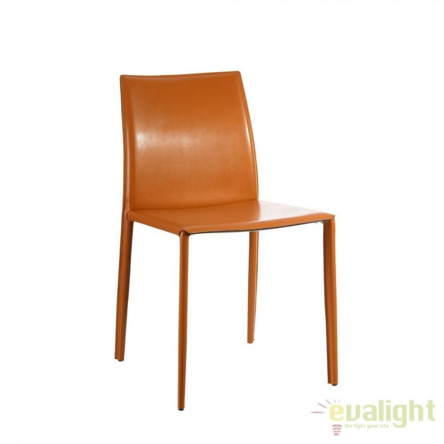 Set de 2 scaune design vintage Slavko II maro DZ-101391, Seturi scaune dining, scaune HoReCa, Corpuri de iluminat, lustre, aplice, veioze, lampadare, plafoniere. Mobilier si decoratiuni, oglinzi, scaune, fotolii. Oferte speciale iluminat interior si exterior. Livram in toata tara.  a