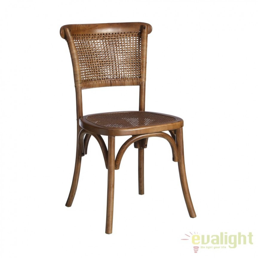 Set de 2 scaune design rustic Armand DZ-79501, Seturi scaune dining, scaune HoReCa, Corpuri de iluminat, lustre, aplice, veioze, lampadare, plafoniere. Mobilier si decoratiuni, oglinzi, scaune, fotolii. Oferte speciale iluminat interior si exterior. Livram in toata tara.  a
