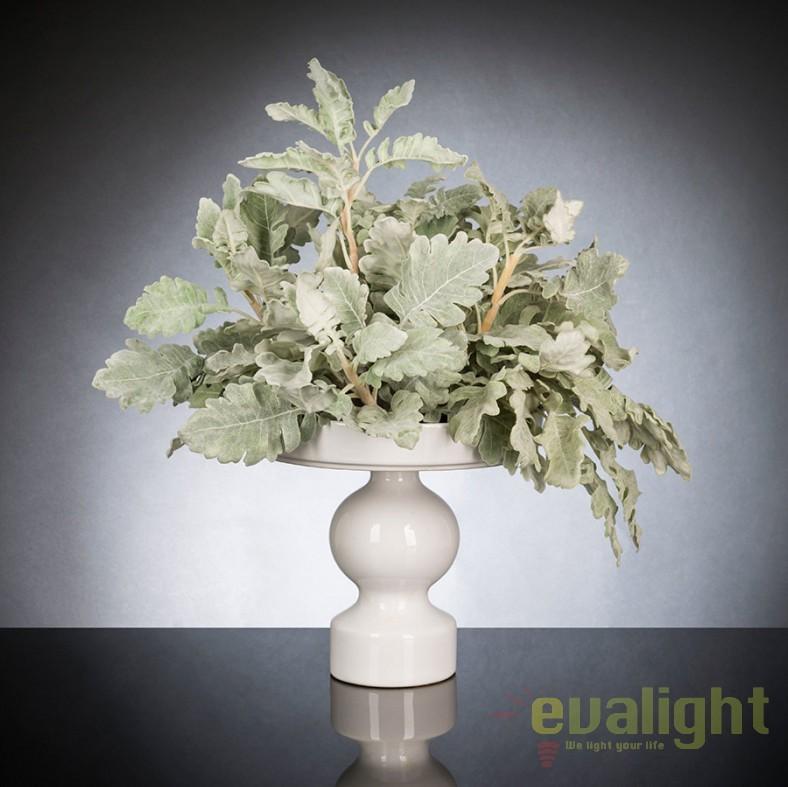 Aranjament floral design LUX Cineraria, 40x55cm, Aranjamente florale LUX, Corpuri de iluminat, lustre, aplice, veioze, lampadare, plafoniere. Mobilier si decoratiuni, oglinzi, scaune, fotolii. Oferte speciale iluminat interior si exterior. Livram in toata tara.  a