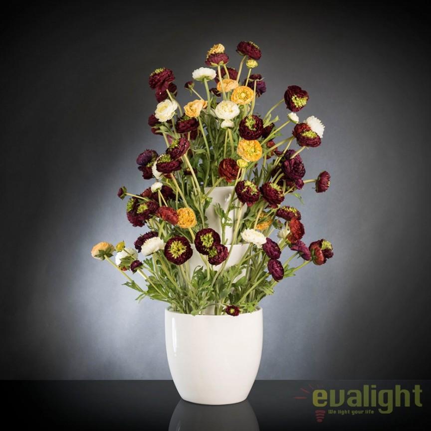 Aranjament floral, decor festiv design LUX, BABILON RANUNCOLO BIG 95cm, multicolor, Aranjamente florale LUX, Corpuri de iluminat, lustre, aplice, veioze, lampadare, plafoniere. Mobilier si decoratiuni, oglinzi, scaune, fotolii. Oferte speciale iluminat interior si exterior. Livram in toata tara.  a