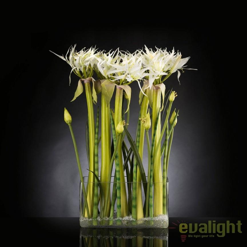 Aranjament floral, decor festiv, design LUX SPIDERLILLY, 65x85cm, Aranjamente florale LUX, Corpuri de iluminat, lustre, aplice, veioze, lampadare, plafoniere. Mobilier si decoratiuni, oglinzi, scaune, fotolii. Oferte speciale iluminat interior si exterior. Livram in toata tara.  a