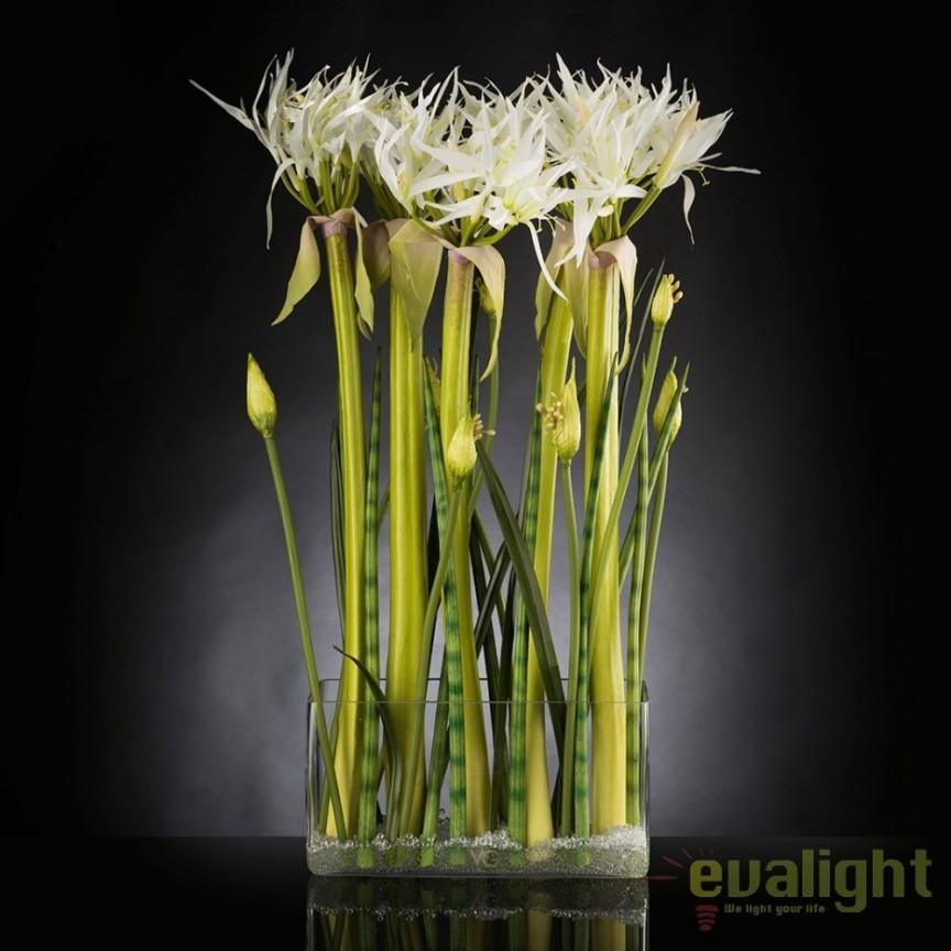Aranjament floral, decor festiv, design LUX SPIDERLILLY, 50x100cm, Aranjamente florale LUX, Corpuri de iluminat, lustre, aplice, veioze, lampadare, plafoniere. Mobilier si decoratiuni, oglinzi, scaune, fotolii. Oferte speciale iluminat interior si exterior. Livram in toata tara.  a