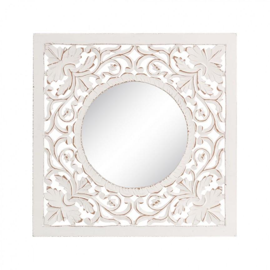 Oglinda, Decoratiune perete stil oriental-arabesc Astrid, 60x60cm SX-92415, Oglinzi decorative, Corpuri de iluminat, lustre, aplice, veioze, lampadare, plafoniere. Mobilier si decoratiuni, oglinzi, scaune, fotolii. Oferte speciale iluminat interior si exterior. Livram in toata tara.  a
