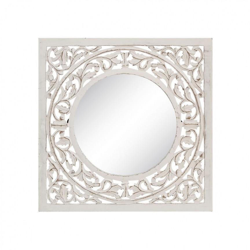 Oglinda, Decoratiune perete stil oriental-arabesc Astrid I, 60x60cm SX-92416, Oglinzi decorative, Corpuri de iluminat, lustre, aplice, veioze, lampadare, plafoniere. Mobilier si decoratiuni, oglinzi, scaune, fotolii. Oferte speciale iluminat interior si exterior. Livram in toata tara.  a