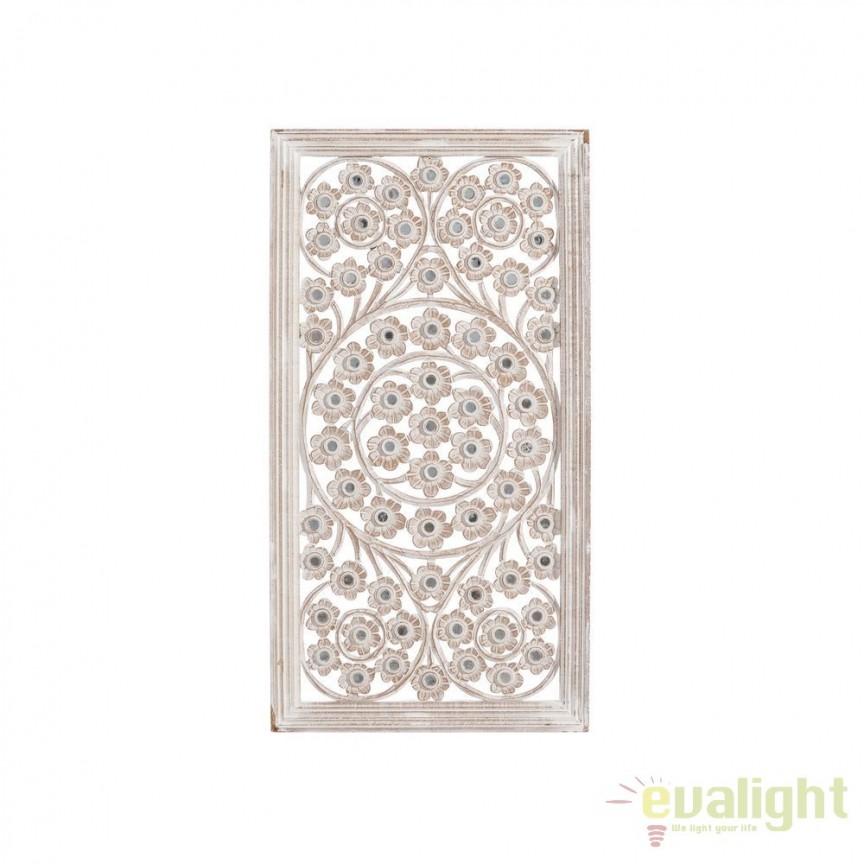 Decoratiune perete stil oriental-arabesc Elena, 45x85cm SX-101559, Oglinzi decorative, Corpuri de iluminat, lustre, aplice, veioze, lampadare, plafoniere. Mobilier si decoratiuni, oglinzi, scaune, fotolii. Oferte speciale iluminat interior si exterior. Livram in toata tara.  a
