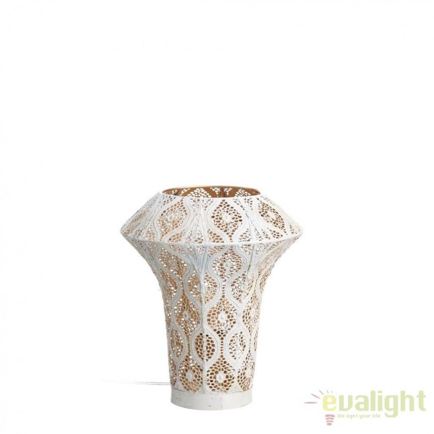 Lampa de masa decorativa design etnic oriental Melody, 30cm SX-100414, ILUMINAT INTERIOR RUSTIC, Corpuri de iluminat, lustre, aplice, veioze, lampadare, plafoniere. Mobilier si decoratiuni, oglinzi, scaune, fotolii. Oferte speciale iluminat interior si exterior. Livram in toata tara.  a