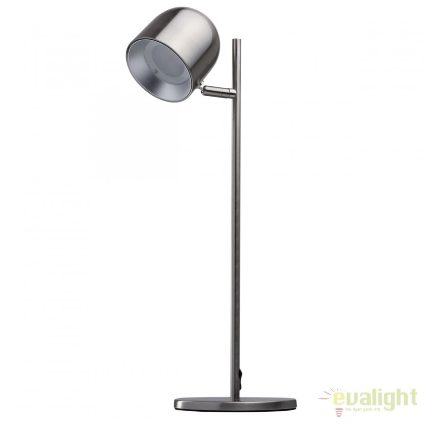 Lampa de masa cu iluminat LED Loft argintiu 633030401 MW, Veioze LED, Lampadare LED, Corpuri de iluminat, lustre, aplice, veioze, lampadare, plafoniere. Mobilier si decoratiuni, oglinzi, scaune, fotolii. Oferte speciale iluminat interior si exterior. Livram in toata tara.  a