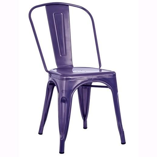 Set de 4 scaune design industrial TOL-MA mov 536.STOLMA SDM, Seturi scaune dining, scaune HoReCa, Corpuri de iluminat, lustre, aplice, veioze, lampadare, plafoniere. Mobilier si decoratiuni, oglinzi, scaune, fotolii. Oferte speciale iluminat interior si exterior. Livram in toata tara.  a