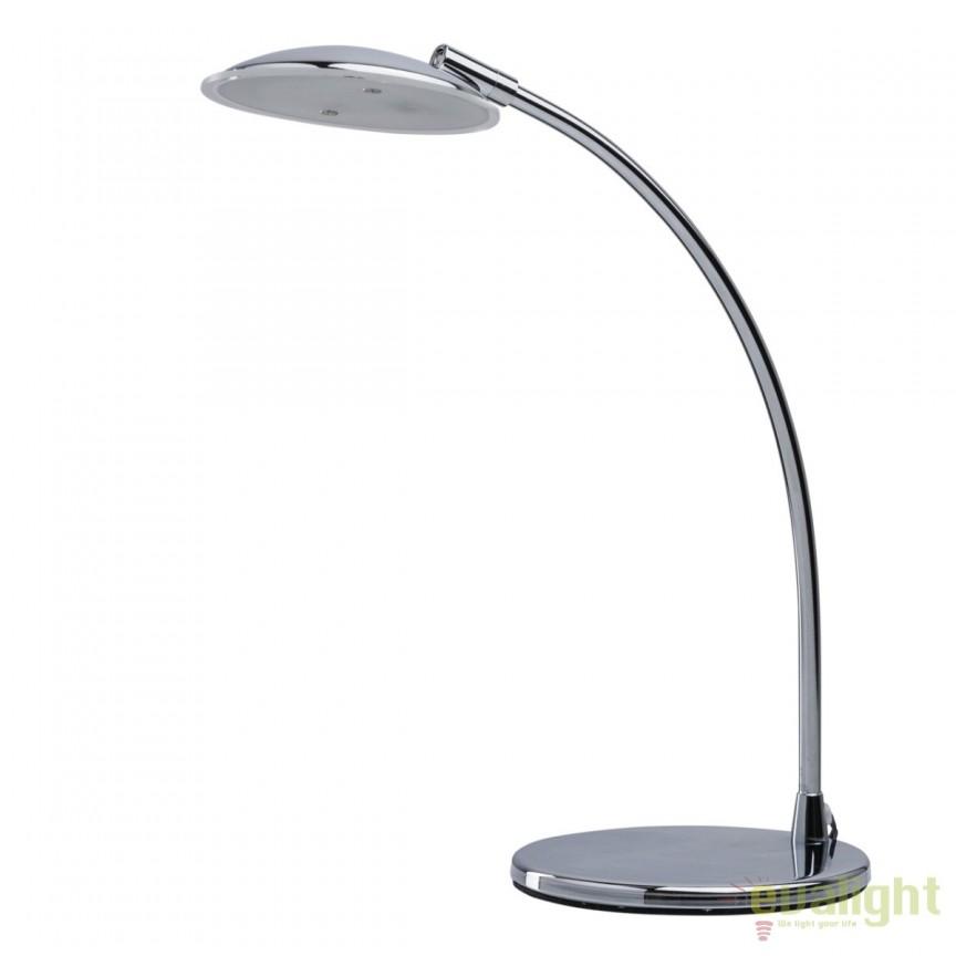 Veioza LED moderna / Lampa de birou Venus aurie 300034601 MW, Veioze LED, Lampadare LED, Corpuri de iluminat, lustre, aplice, veioze, lampadare, plafoniere. Mobilier si decoratiuni, oglinzi, scaune, fotolii. Oferte speciale iluminat interior si exterior. Livram in toata tara.  a