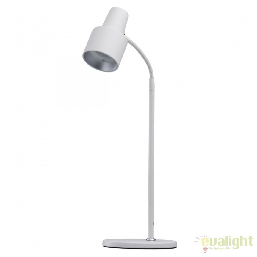 Veioza LED design modern minimalist / Lampa de birou Berny alb 300034301 MW, Veioze LED, Lampadare LED, Corpuri de iluminat, lustre, aplice, veioze, lampadare, plafoniere. Mobilier si decoratiuni, oglinzi, scaune, fotolii. Oferte speciale iluminat interior si exterior. Livram in toata tara.  a