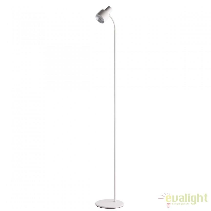 Lampadar LED design modern minimalist / Lampa de podea Berny alb 300044101 MW, Veioze LED, Lampadare LED, Corpuri de iluminat, lustre, aplice, veioze, lampadare, plafoniere. Mobilier si decoratiuni, oglinzi, scaune, fotolii. Oferte speciale iluminat interior si exterior. Livram in toata tara.  a