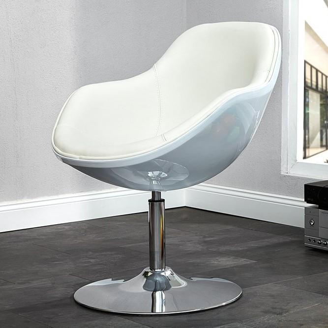 Fotoliu pivotant modern, Speedchair alb A-4092 VC, Scaune de birou, Corpuri de iluminat, lustre, aplice, veioze, lampadare, plafoniere. Mobilier si decoratiuni, oglinzi, scaune, fotolii. Oferte speciale iluminat interior si exterior. Livram in toata tara.  a