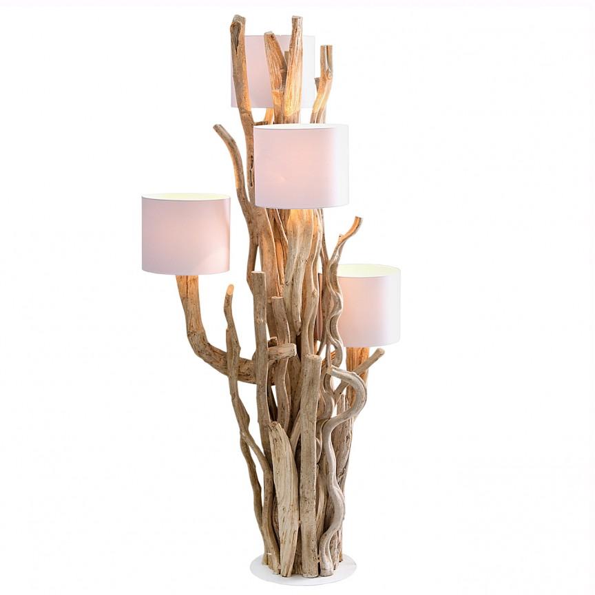 Lampadar design unicat Tree of Life 150cm A-37211 VC, ILUMINAT INTERIOR RUSTIC, Corpuri de iluminat, lustre, aplice, veioze, lampadare, plafoniere. Mobilier si decoratiuni, oglinzi, scaune, fotolii. Oferte speciale iluminat interior si exterior. Livram in toata tara.  a