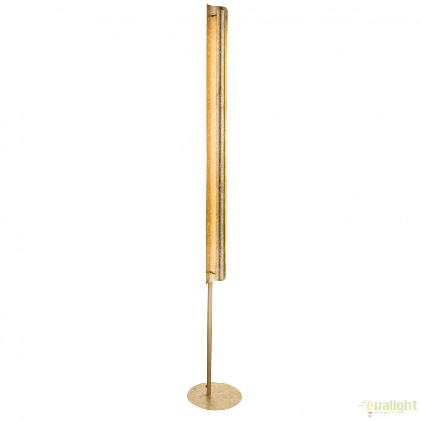 Lampadar LED / Lampa de podea moderna Tabea 24W 41900-24S GL, Veioze LED, Lampadare LED, Corpuri de iluminat, lustre, aplice, veioze, lampadare, plafoniere. Mobilier si decoratiuni, oglinzi, scaune, fotolii. Oferte speciale iluminat interior si exterior. Livram in toata tara.  a