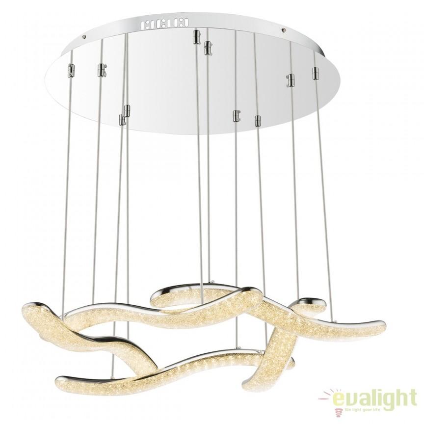 Lustra LED suspendata design modern Nabro 60W 67833-60H GL