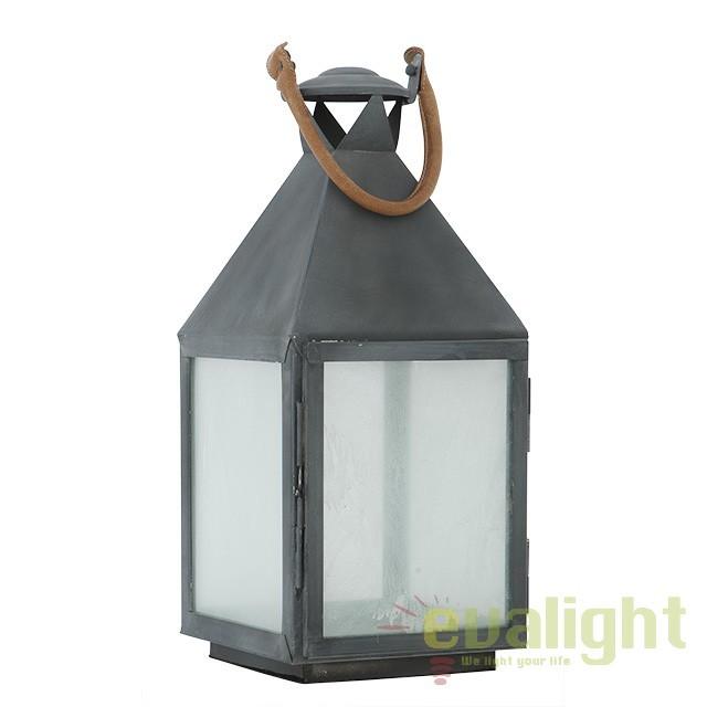 Suport lumanare design LUX Vanini M, zinc 106861 HZ, ILUMINAT FESTIV, Corpuri de iluminat, lustre, aplice, veioze, lampadare, plafoniere. Mobilier si decoratiuni, oglinzi, scaune, fotolii. Oferte speciale iluminat interior si exterior. Livram in toata tara.  a