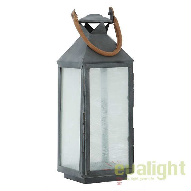 Suport lumanare design LUX Vanini S, zinc 106862 HZ, ILUMINAT FESTIV, Corpuri de iluminat, lustre, aplice, veioze, lampadare, plafoniere. Mobilier si decoratiuni, oglinzi, scaune, fotolii. Oferte speciale iluminat interior si exterior. Livram in toata tara.  a