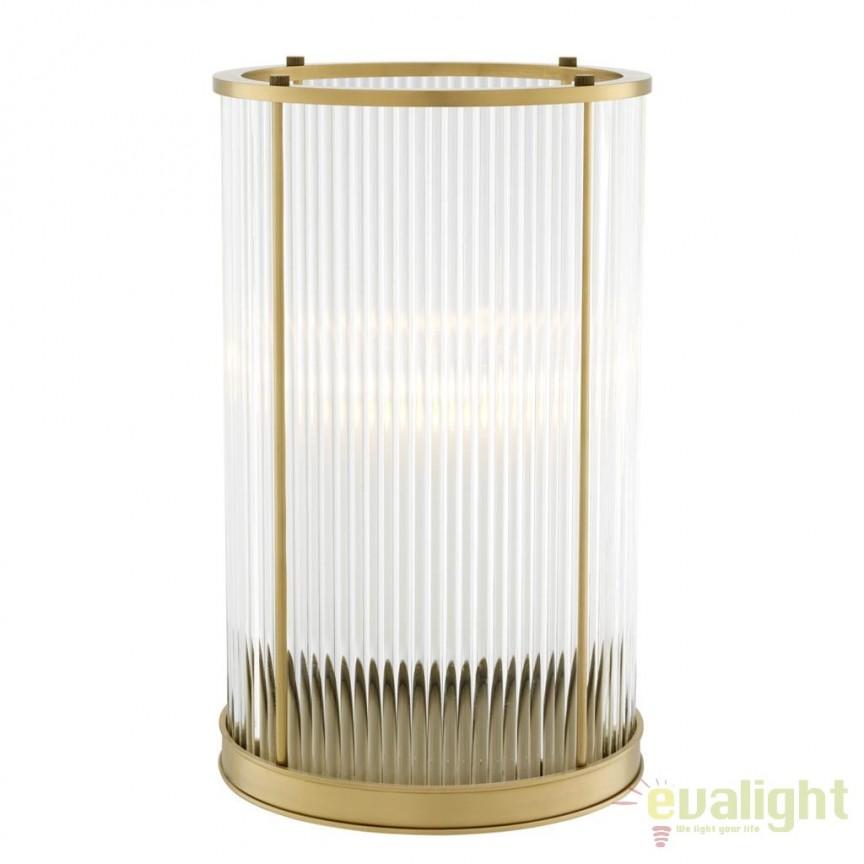 Suport lumanare design LUX Mayson L, alama antic 111641 HZ, ILUMINAT FESTIV, Corpuri de iluminat, lustre, aplice, veioze, lampadare, plafoniere. Mobilier si decoratiuni, oglinzi, scaune, fotolii. Oferte speciale iluminat interior si exterior. Livram in toata tara.  a