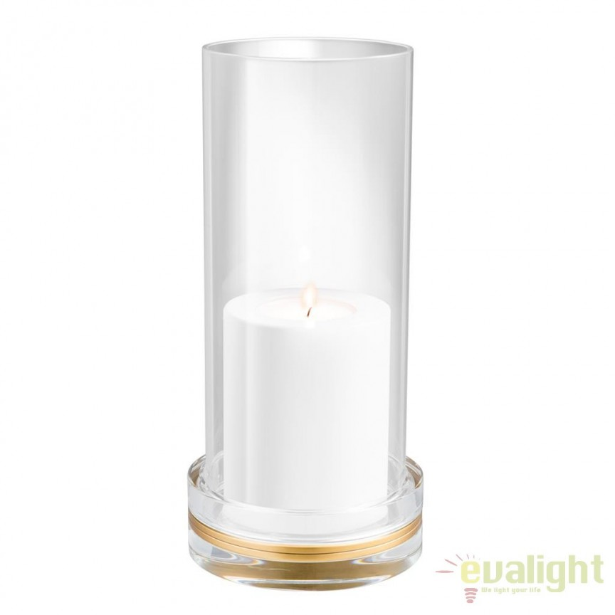 Suport lumanare design LUX Henderson 110853 HZ, ILUMINAT FESTIV, Corpuri de iluminat, lustre, aplice, veioze, lampadare, plafoniere. Mobilier si decoratiuni, oglinzi, scaune, fotolii. Oferte speciale iluminat interior si exterior. Livram in toata tara.  a
