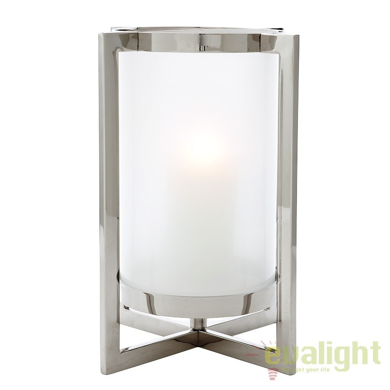 Suport lumanare design LUX Beluga L 107094 HZ, ILUMINAT FESTIV, Corpuri de iluminat, lustre, aplice, veioze, lampadare, plafoniere. Mobilier si decoratiuni, oglinzi, scaune, fotolii. Oferte speciale iluminat interior si exterior. Livram in toata tara.  a