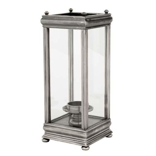 Suport lumanare design LUX Prince Charles, argintiu antic 106376 HZ, ILUMINAT FESTIV, Corpuri de iluminat, lustre, aplice, veioze, lampadare, plafoniere. Mobilier si decoratiuni, oglinzi, scaune, fotolii. Oferte speciale iluminat interior si exterior. Livram in toata tara.  a