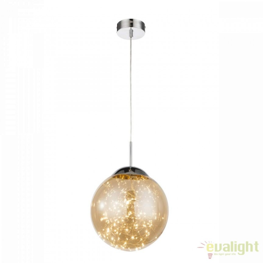Pendul LED design modern diam.30cm Manam I 15805 GL, Lustre LED, Pendule LED, Corpuri de iluminat, lustre, aplice, veioze, lampadare, plafoniere. Mobilier si decoratiuni, oglinzi, scaune, fotolii. Oferte speciale iluminat interior si exterior. Livram in toata tara.  a