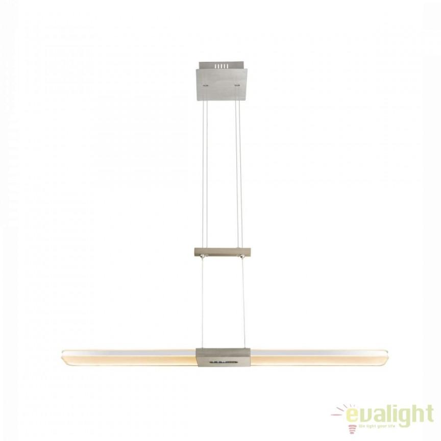 Lustra LED design modern cu inaltime reglabila Yasur I 68156-30 GL, Lustre LED, Pendule LED, Corpuri de iluminat, lustre, aplice, veioze, lampadare, plafoniere. Mobilier si decoratiuni, oglinzi, scaune, fotolii. Oferte speciale iluminat interior si exterior. Livram in toata tara.  a