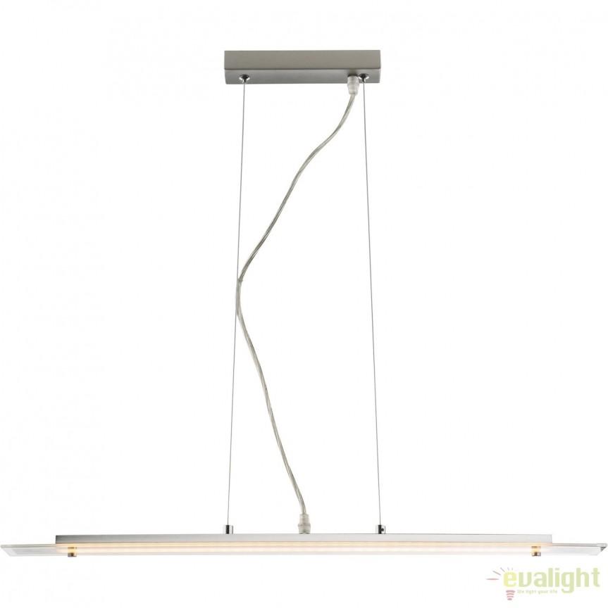 Lustra LED design modern Kisimen 68171 GL, Lustre LED, Pendule LED, Corpuri de iluminat, lustre, aplice, veioze, lampadare, plafoniere. Mobilier si decoratiuni, oglinzi, scaune, fotolii. Oferte speciale iluminat interior si exterior. Livram in toata tara.  a