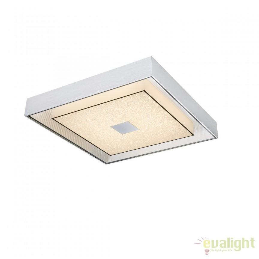 Lustra LED aplicata design modern Vincenz 18W 49000-18 GL, Lustre LED, Pendule LED, Corpuri de iluminat, lustre, aplice, veioze, lampadare, plafoniere. Mobilier si decoratiuni, oglinzi, scaune, fotolii. Oferte speciale iluminat interior si exterior. Livram in toata tara.  a