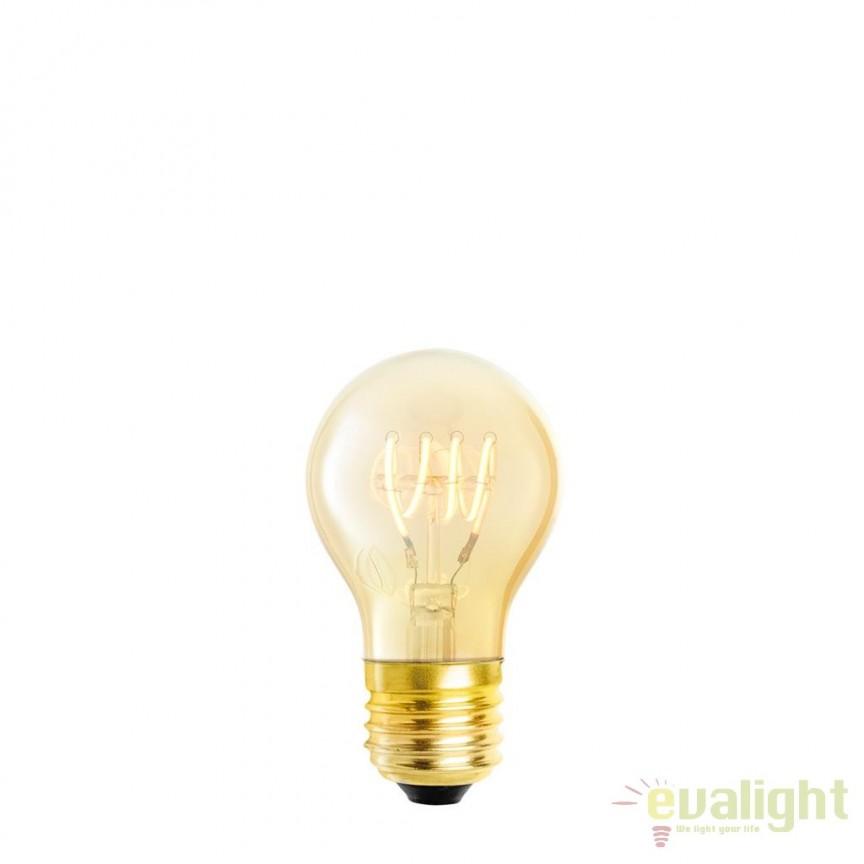 Set de 4 becuri E27 LED Bulb A shape 4W E27 111175 HZ, Becuri E27, Corpuri de iluminat, lustre, aplice, veioze, lampadare, plafoniere. Mobilier si decoratiuni, oglinzi, scaune, fotolii. Oferte speciale iluminat interior si exterior. Livram in toata tara.  a