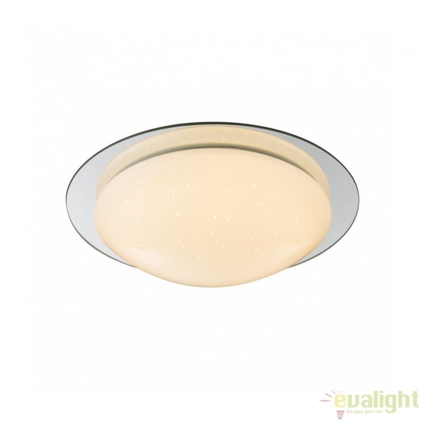 Plafoniera LED baie IP44 Step Up 18W 48377-18 GL, Plafoniere cu protectie pentru baie, Corpuri de iluminat, lustre, aplice, veioze, lampadare, plafoniere. Mobilier si decoratiuni, oglinzi, scaune, fotolii. Oferte speciale iluminat interior si exterior. Livram in toata tara.  a
